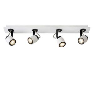 LUCIDE - spot quadruple linéaire orientable dica led h14 cm - Faretto