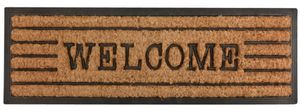 Esschert Design - tapis en fibres de coco inscription welcome - Zerbino