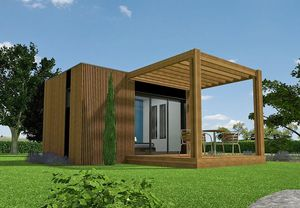 WOOD DESIGN -  - Casa In Legno