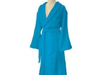 Liou - peignoir de bain bleu cyclades - Accappatoio