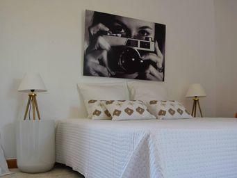 MAISON D'ETE - dessus de lit plumetis blanc - naturel - Copriletto