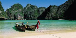 Nouvelles Images - affiche paysage îles phi phi thaïlande - Poster