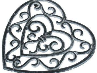 CHEMIN DE CAMPAGNE - dessous de plat repose plat en fonte cour - Sottopentola