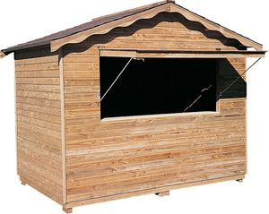Cihb - abri en bois type stand - Casetta Da Giardino