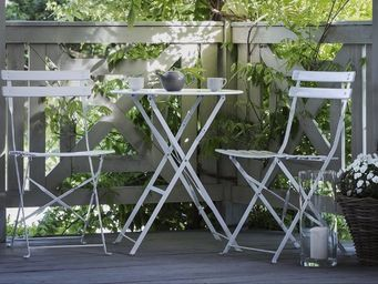 BELIANI -  - Tavolo Da Giardino Rotondo