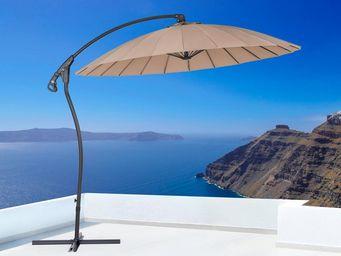 BELIANI - parasol suspendu - Ombrellone Con Braccio Laterale