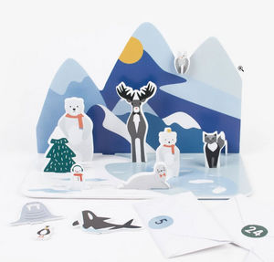 MY LITTLE DAY - animaux polaires - Calendario Dell'avvento
