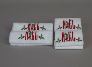 Noel - houx - Asciugamano Toilette