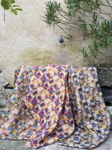 KARIN SAJO - carreaux - Tessuto D'arredamento Per Sedie