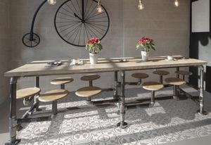CasaLux Home Design - -effet carreau de ciment - Pavimentazione In Gres