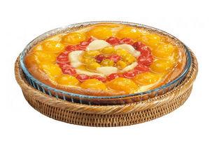 ROTIN ET OSIER - rotin et pyrex tristan - Piatto Torta