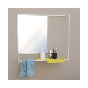 Presse Citron - romi - miroir et tablette - Specchio Con Mensola