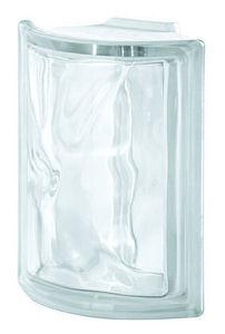Rouviere Collection - brique angulaire 90° pegasus - Mattone Di Vetro Angolare