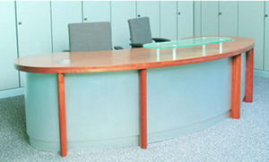 Margolis Office Interiors -  - Banco Reception