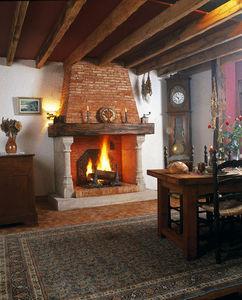Jean Magnan Cheminees - vieux bourg - Camino Con Focolare Aperto