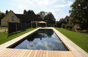 CARON PISCINES - bassin de nage - Piscina Lunga E Stretta (lap Pool)