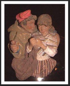ACI Antiquités -  - Statuina Presepe
