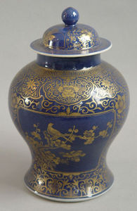 KUNST UND ANTIQUITATEN EHRL - chinese cap vase - Vaso Di Porcellana