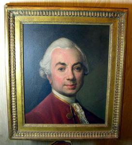 Fabian de MONTJOYE - portrait de joseph-siffred - Ritratto