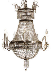 Woka - parlor chandelier around 1800 - Lampadario