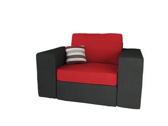 Miliboo - u2y3 fauteuil 80cm + ar3 - Poltrona