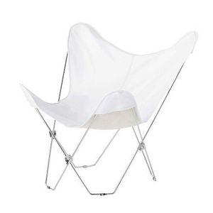 Maisons du monde - fauteuil blanc easy - Poltrona