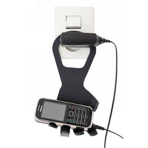 INVOTIS - porte portable main noir - Portacellulare