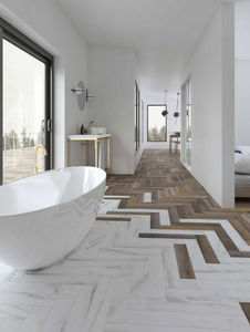CasaLux Home Design - love affairs - calacatta strip - Pavimentazione In Gres