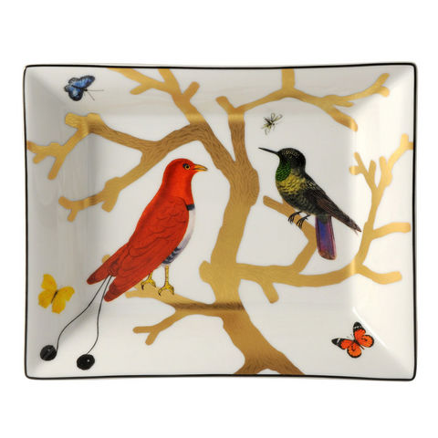 Bernardaud - Svuotatasche-Bernardaud-Aux oiseaux