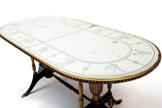 RELOADED DESIGN - Tavolo da pranzo ovale-RELOADED DESIGN-Zodiac - Unique Piece