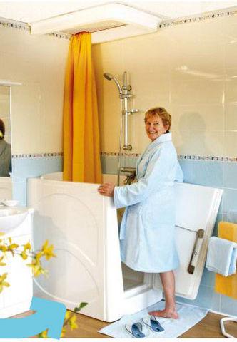 Crystalyne - Vasca da bagno con sportello-Crystalyne-Plénitude