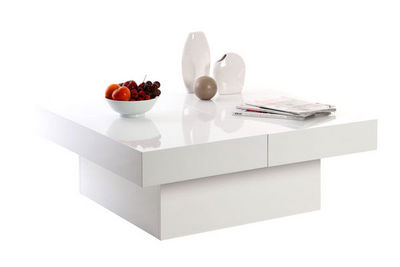 Miliboo - Tavolino quadrato-Miliboo-LAUREEN TABLE BASSE