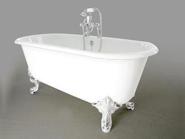 Vasca Da Bagno Antica Con Piedini : Bagno con vasca con piedini u body art